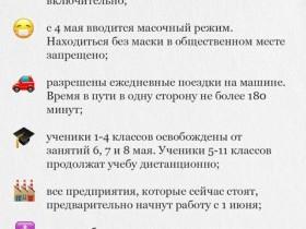 Изменения в режиме самоизоляции в Башкирии